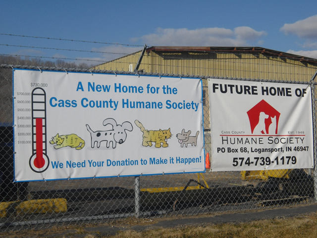 The future site for the new Cass County Humane Society